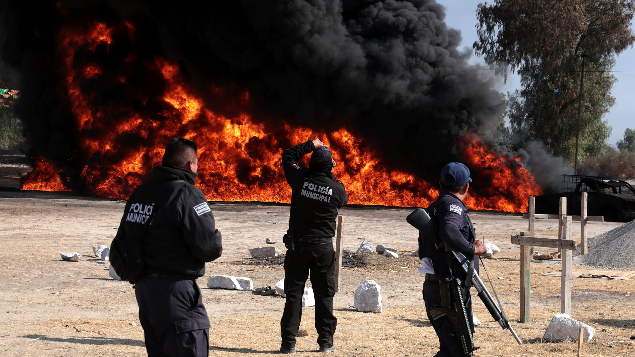 MEXICO-PETROL-THEFT-EXPLOSION