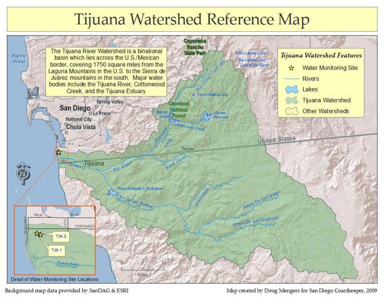 Tijuana Sewage Spills EXPAT in BAJA Mexico
